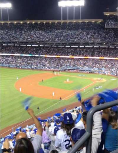DODGER STADIUM section 45RS