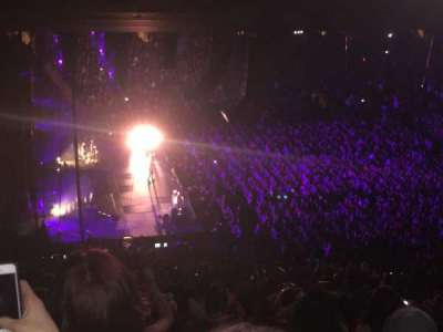 concert madison square garden. Madison Square Garden, Section: 222, Row: 18, Seat: 4 Concert Garden S