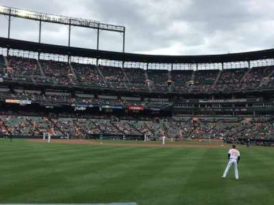 Oriole Park at Camden Yards, section: 84, row: 1