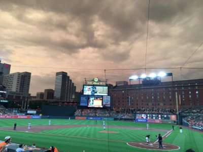 Oriole Park at Camden Yards, section: 44, row: 16