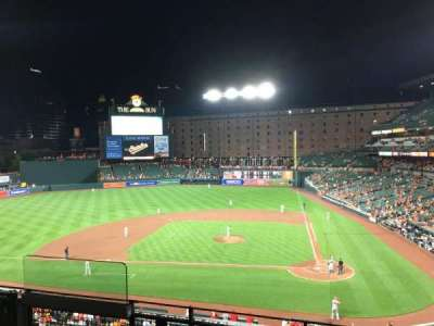 Oriole Park at Camden Yards, section: 244, row: 4