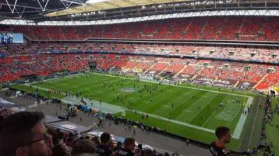 Wembley Stadium, section: 522, row: 10, seat: 266
