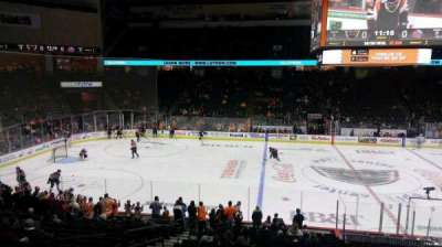 PPL Center, section: Loge Box 7, row: 1, seat: 4