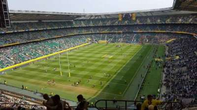 Twickenham Stadium, section: U16, row: L, seat: 21