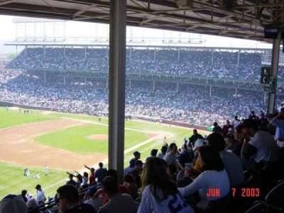 Wrigley Field, section: 505, row: 7, seat: 10