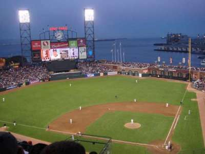 AT&T Park, section: 319, row: 7, seat: 11