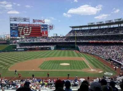 Nationals Park, section: 209, row: F, seat: 10