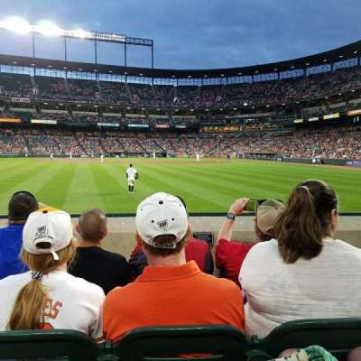 Oriole Park at Camden Yards, section: 82, row: 4, seat: 3