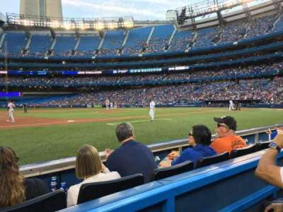 Rogers Centre, section: 128R, row: 2, seat: 1