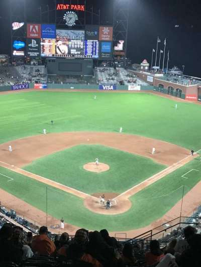 AT&T Park, section: VR317, row: 14, seat: 9