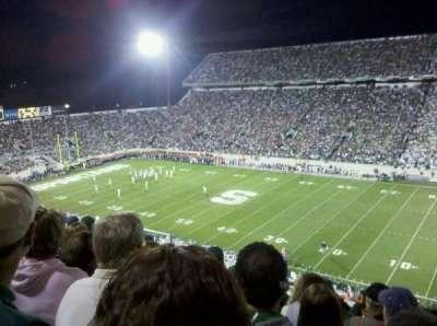 Spartan Stadium, section: 121