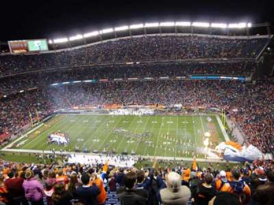 Invesco Field at Mile High, section: 505, row: 32, seat: 14
