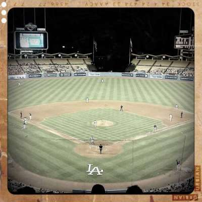 Dodger Stadium, section: 1, row: E, seat: 3