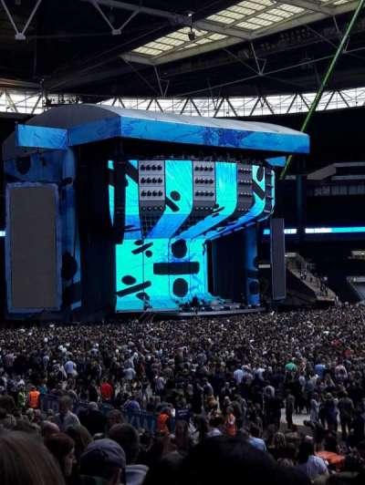 Wembley Stadium section 121