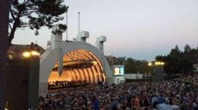Hollywood Bowl, section: K3, row: 1, seat: 5
