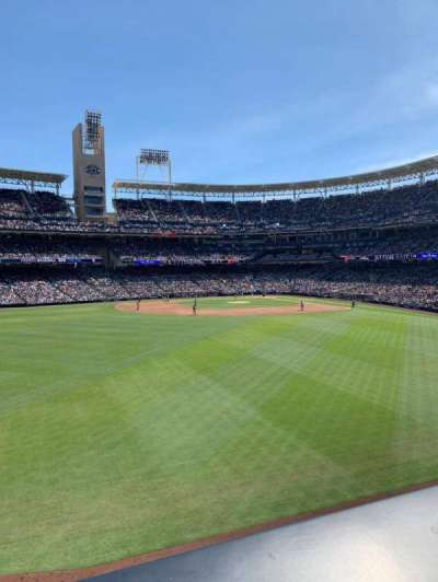 PETCO Park section The point