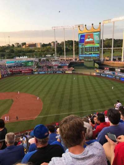 Kauffman Stadium, section: 431, row: T, seat: 3