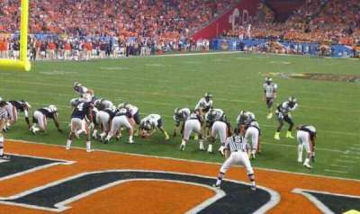 University of Phoenix Stadium, section: 116, row: 6, seat: 9