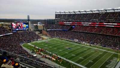 Gillette Stadium, section: 326, row: 2, seat: 13