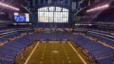 Lucas Oil Stadium, section: 627, row: 4, seat: 6