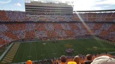 Neyland Stadium, section: FF, row: 8, seat: 6