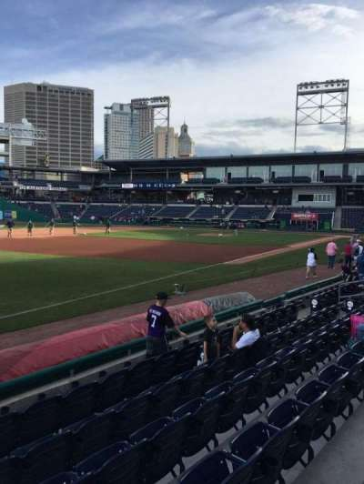 Dunkin' Donuts Park, section: 120, row: F, seat: 1