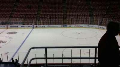 Joe Louis Arena, section: 220, row: 5, seat: 2