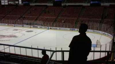 Joe Louis Arena, section: 218B, row: 5, seat: 8