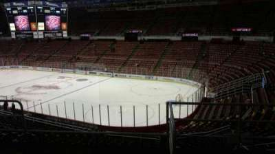 Joe Louis Arena, section: 218A, row: 5, seat: 1