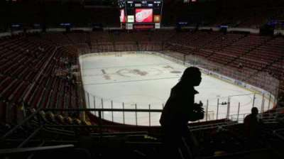 Joe Louis Arena, section: 216A, row: 5, seat: 10