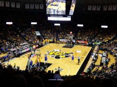 Charles Koch Arena, section: 115, row: 29