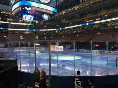 Air Canada Centre, section: 115, row: 10, seat: 11