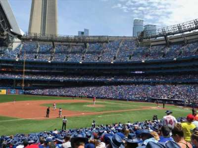 Rogers Centre, section: 129L, row: 24, seat: 101