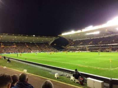 Molineux Stadium, section: JL2, row: E