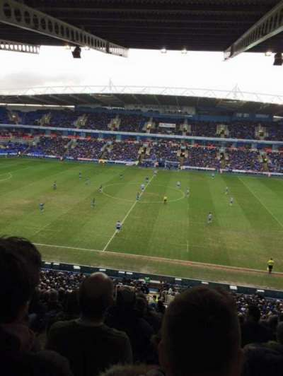 Madejski Stadium, section: Y22, row: KK, seat: 136