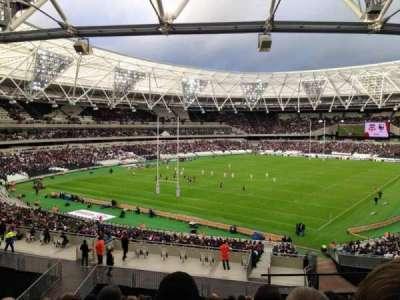 London Stadium, section: 227, row: 44, seat: 721