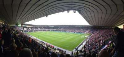 Pride Park, section: H, row: R, seat: 857