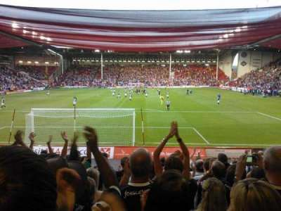 Bramall Lane, section: D