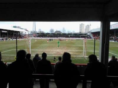 Griffin Park, section: Brook Road Terrace