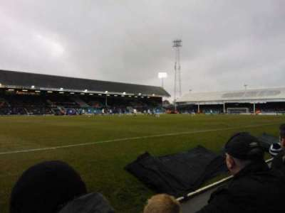 London Road Stadium, section: F, row: C, seat: 186