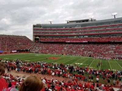 Memorial Stadium, section: 3, row: 24, seat: 8