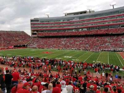 Memorial Stadium, section: 2, row: 24, seat: 14