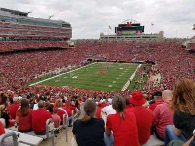 Memorial Stadium, section: 14, row: 93, seat: 27