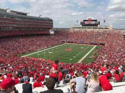 Memorial Stadium, section: 14, row: 98, seat: 9