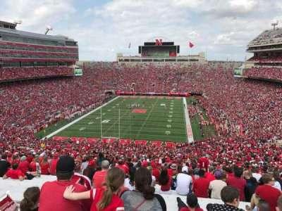 Memorial Stadium, section: 16, row: 98, seat: 12