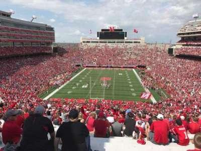 Memorial Stadium, section: 16-b1, row: 98, seat: 10