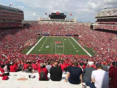 Memorial Stadium, section: 16-b2, row: 98, seat: 33
