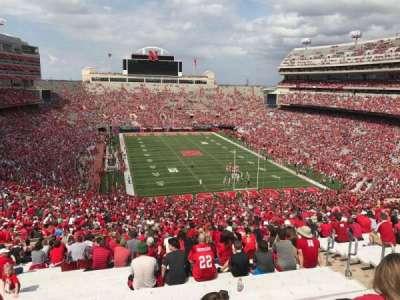 Memorial Stadium, section: 17, row: 98, seat: 5