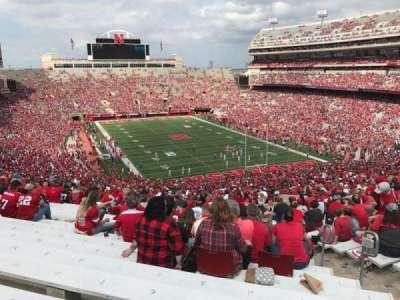 Memorial Stadium, section: 18, row: 96, seat: 5
