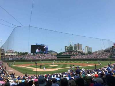 Wrigley Field, section: 122, row: 8, seat: 8